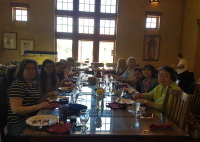 WI Dinner at the OLG Pilgrim Center